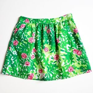 Lilly Pulitzer Whitley skirt in Multi Dashing 6